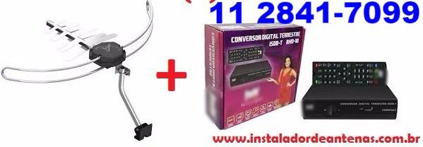 Antenas Digital e Conversor melhor preço e marcas
