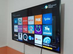 instalação de tv suporte