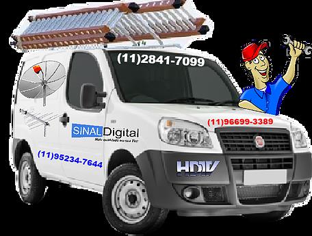 Antenista Sp11952347644 instalador de Antenas Sp 1128417099