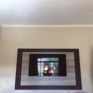 instalador de tv painel madeira zona les