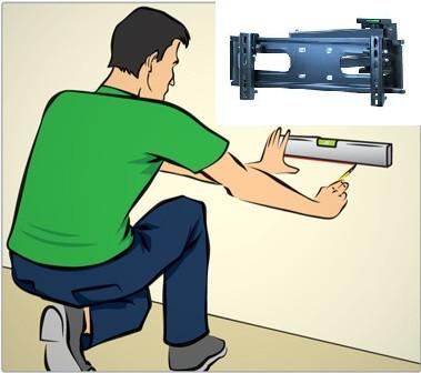 tecnico instalador suporte de tv