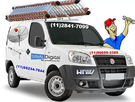 Antenista Instalador de Antenas Na Zona Sul Sp
