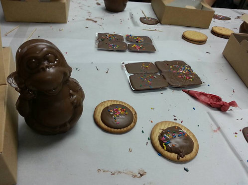 D.I.Y.chocolate workshop at factory
