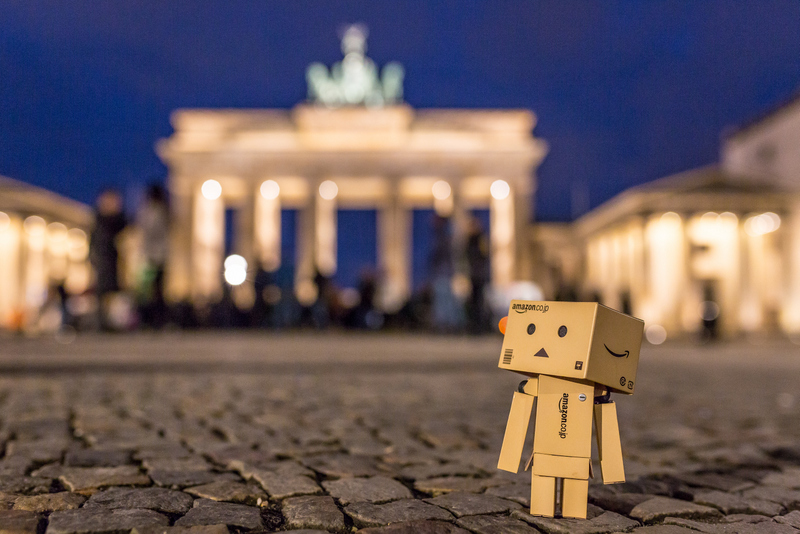 Danbo am Brandenburger Tor