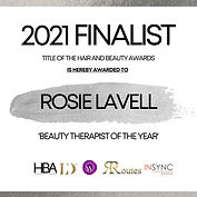 Rosie Lavell - TITLE OF THE HAIR AND BEA