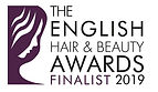 English Hair and Beauty Award Finalist 2