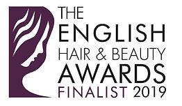 English Hair and Beauty Award Finalist 2
