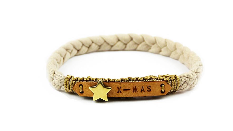Collier - XMAS - Star - beige