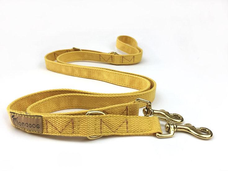 Gelbe Baumwoll-Leine - Kollektion Natur