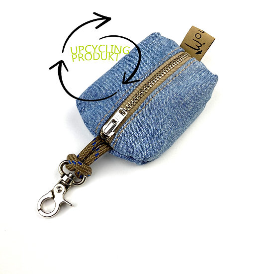 Upcycling Kotbeutelspender -Jeans 1
