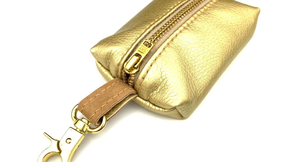 """Kotbeutelspender -""""Gold Label"""" - gold"""