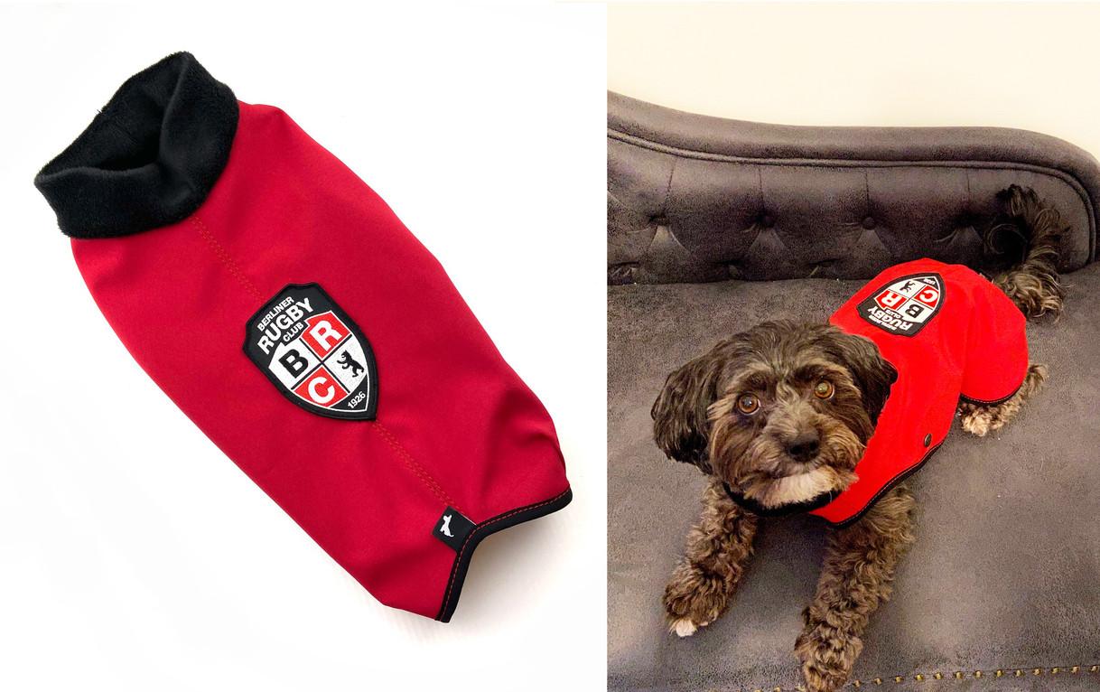 Mantel und Pulli mit eigenem Logo...zB. für Vereine