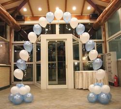 Arco ad elio con palloncini
