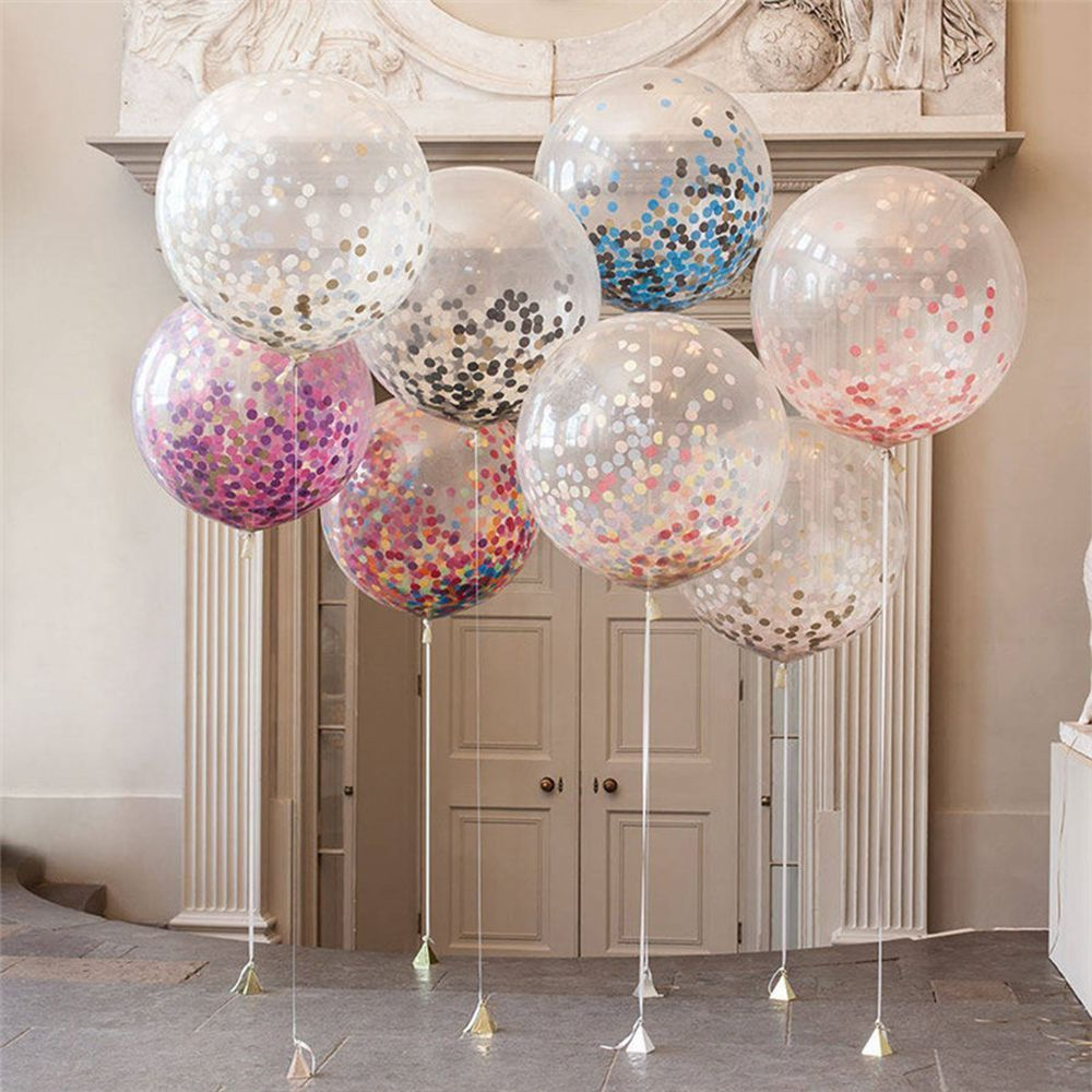 Palloncini trasparenti a elio