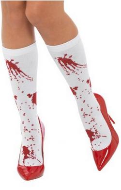 Gambaletto con schizzi di sangue