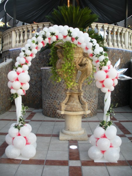 Arco con colonne
