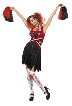 VESTITO CHEERLEADER ZOMBIE
