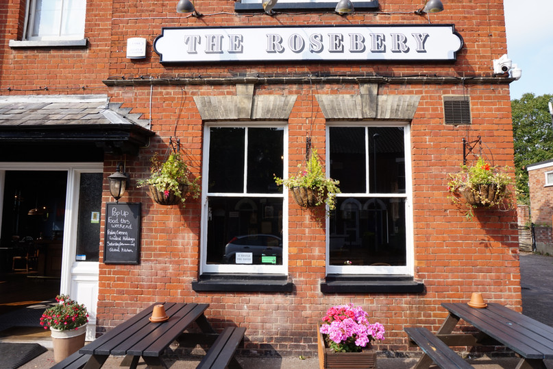 The Exterior of the Rosebery Pub, Norwich