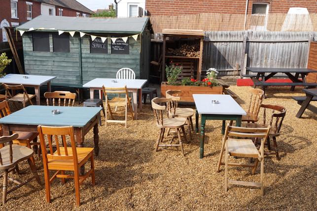 Beer Garden in the Sun, Norwich
