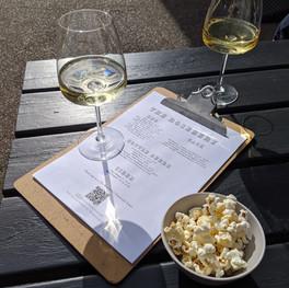 Wine at the Rosebery