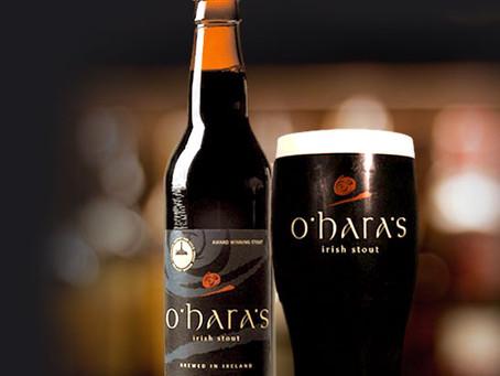 Irish Stout Nitro ~ O'hara's 4.3% ABV