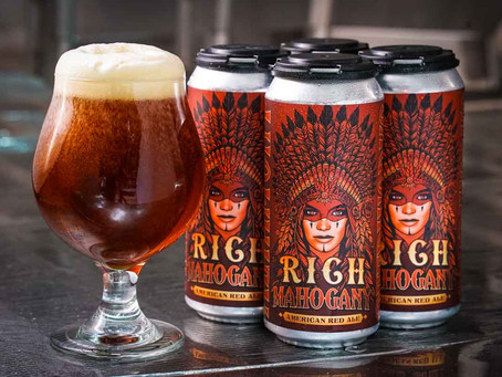 Rich Mahogany ~ Altamont Beer Works 6.5% ABV