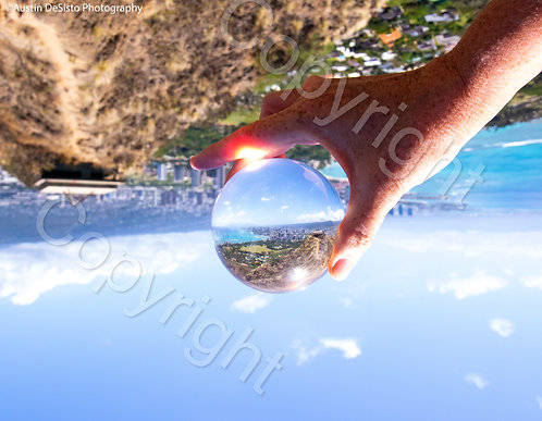 Diamond Head Lensball