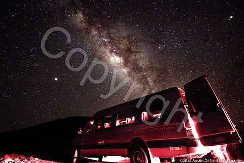 Milky Way with Van