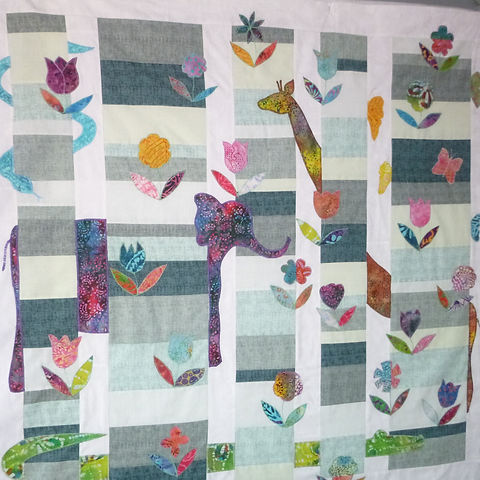 Jungle Camouflage Alex O'Hara's Quilts