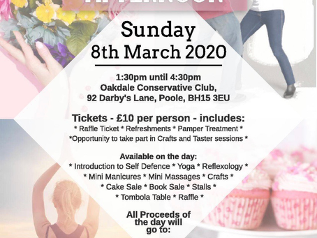 Pamper and Wellbeing Charity Event ~ International Woman's Day