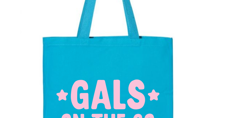 Girls On The Go Tote Bag
