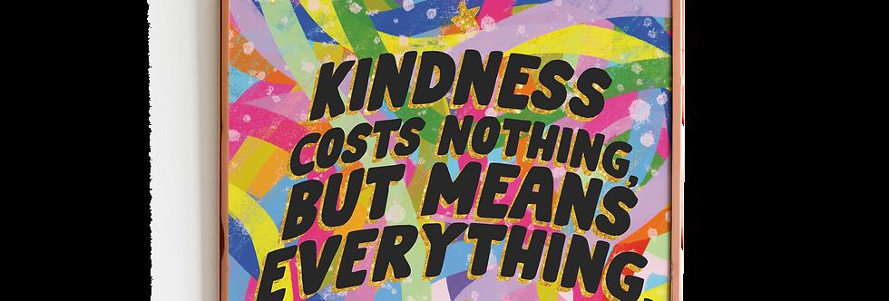 Kindness Print Print (8x8)