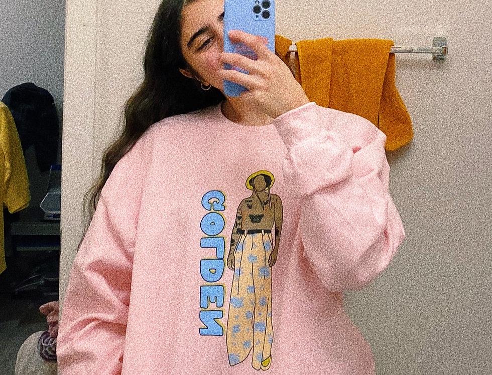 Golden Harry Styles Sweatshirt