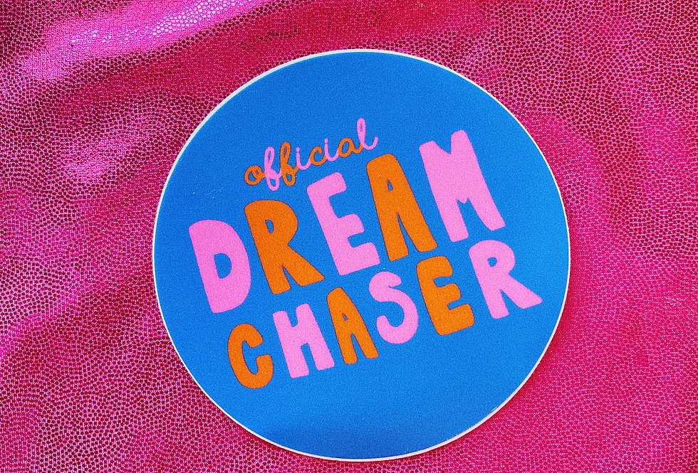 Official Dream Chaser Sticker