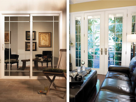 Hinged Doors vs. Sliding Doors... Which Are Better For My Patio?