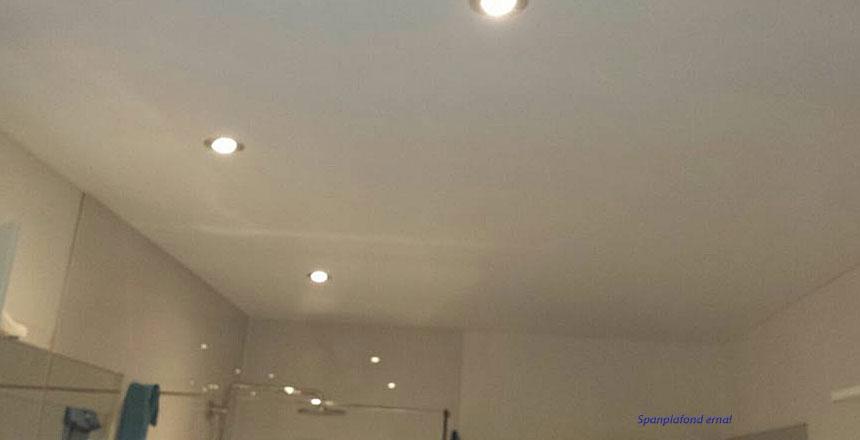 Spanplafond badkamer erna