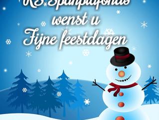 Fijne kerst en een gelukkig nieuwjaar.