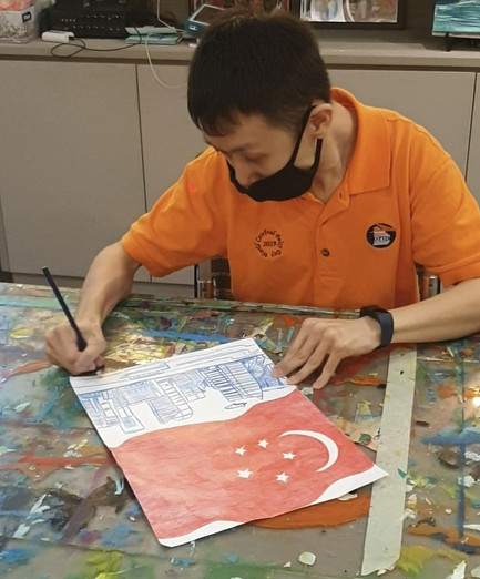 Image of Ang Wei Lun from Cerebral Palsy Alliance Singapore