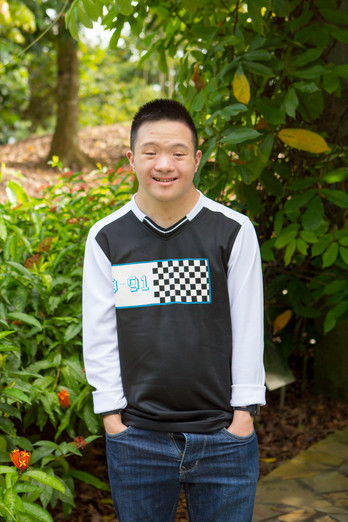 Image of Samuel Lee En Ci from Down Syndrome Association
