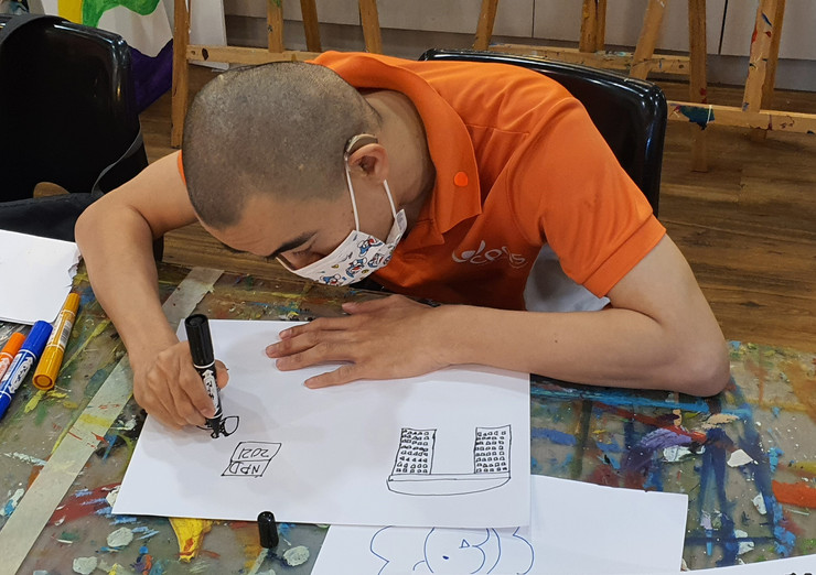 Image of Tan Bing Yao from Cerebral Palsy Alliance Singapore