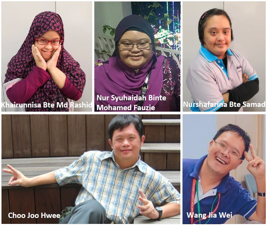 Collage of Artists (Humans of Singapore)