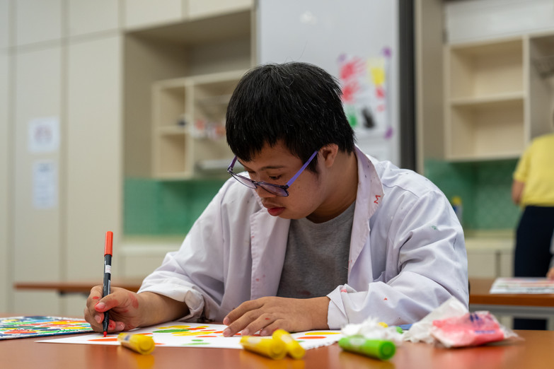 Image of Dawson Tan Siong Chuan from Down Syndrome Association