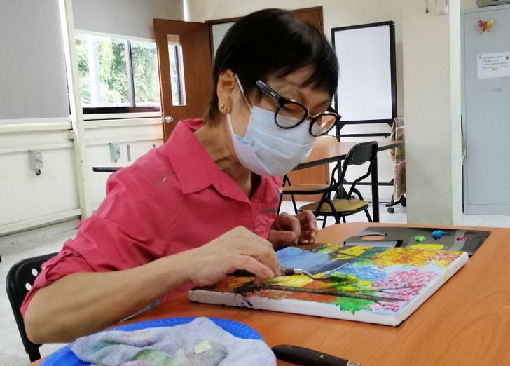 Image of Katy Lee from Singapore Association of the Visually Handicapped