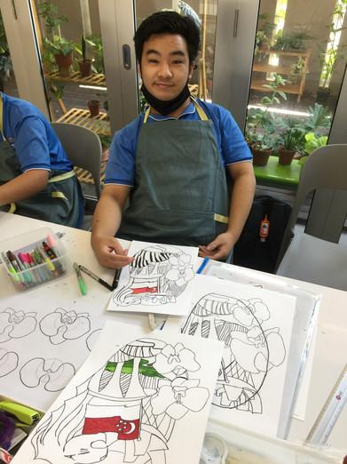 Image of Chua Jie Shun from Rainbow Centre
