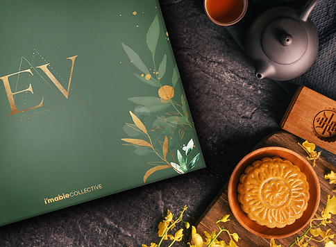 The items in the i'mable EV Series Mooncake Gift Set are prepared by persons with special needs.