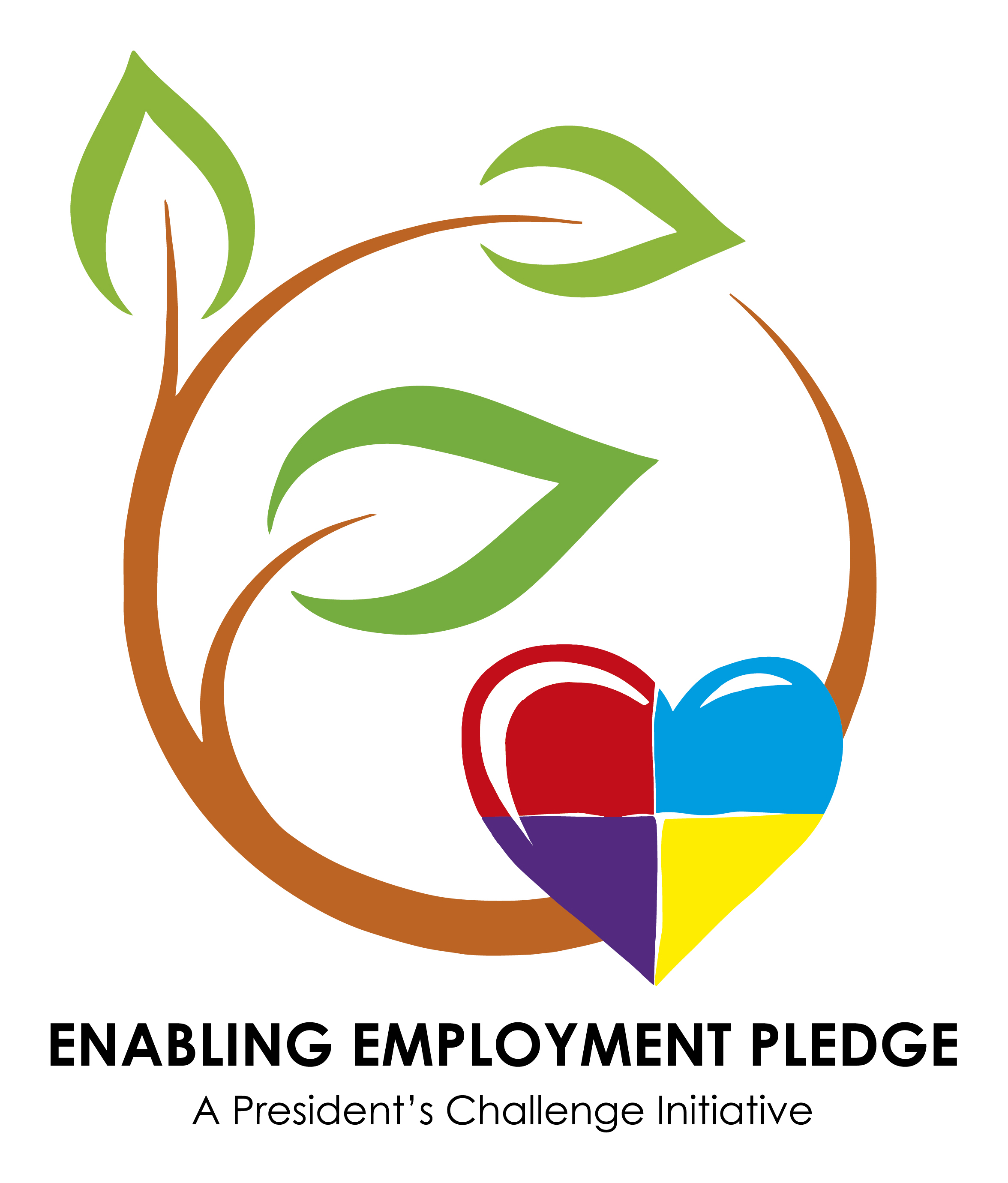 The Enabling Employment Pledge logo.