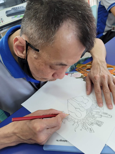 Image of Philip Siow Kent Kok from Movement for the Intellectually Disabled Singapore