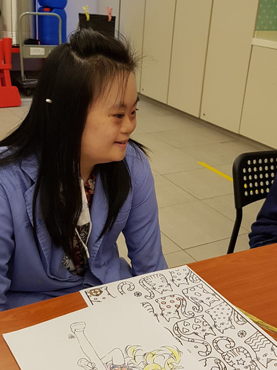 Image of Amanda Chin Mei from Down Syndrome Association