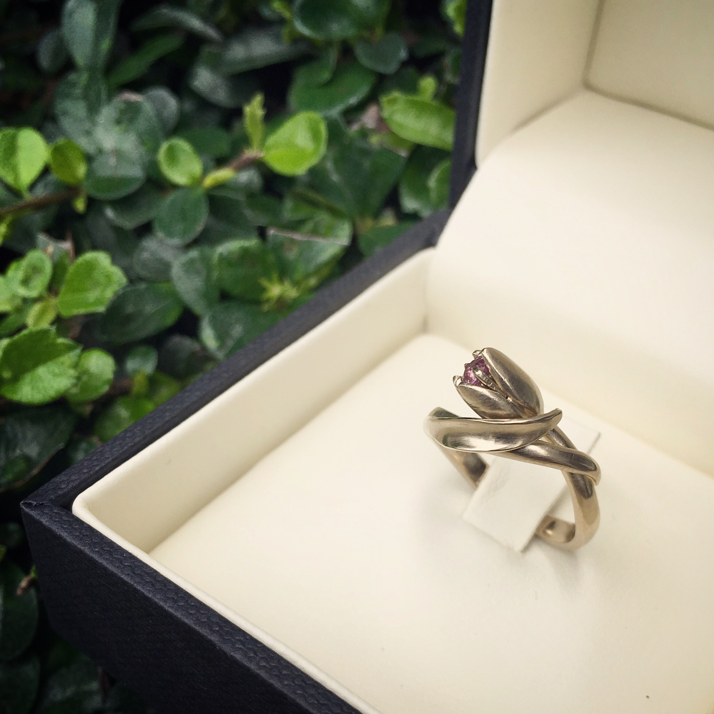 Tulip Engagement Ring
