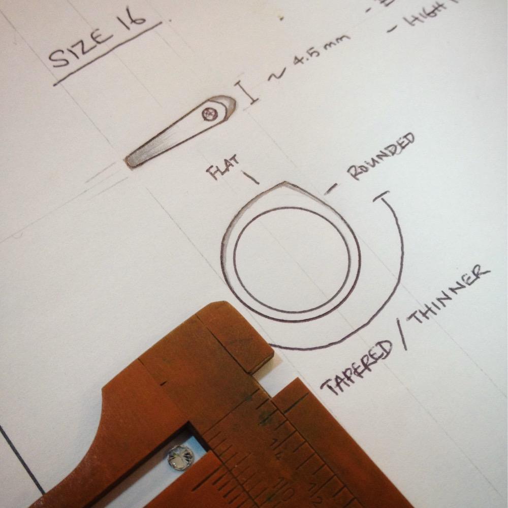 Minimal ring design